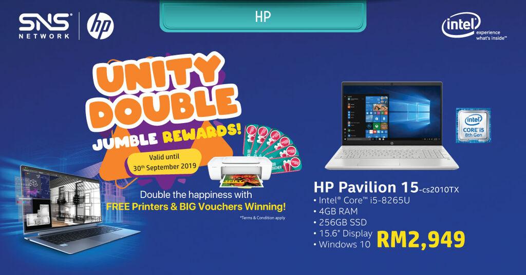 Get a free printer and win cash vouchers with the Intel® Revolution Bonanza Campaign 25