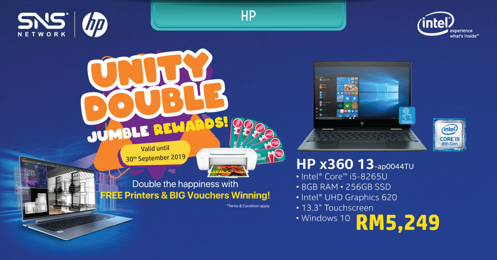 Get a free printer and win cash vouchers with the Intel® Revolution Bonanza Campaign 23