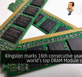 Kingston marks 16th consecutive year as the world's top DRAM Module supplier 30