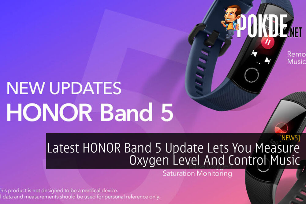 Latest HONOR Band 5 Update Lets You Measure Oxygen Level And Control Music 19