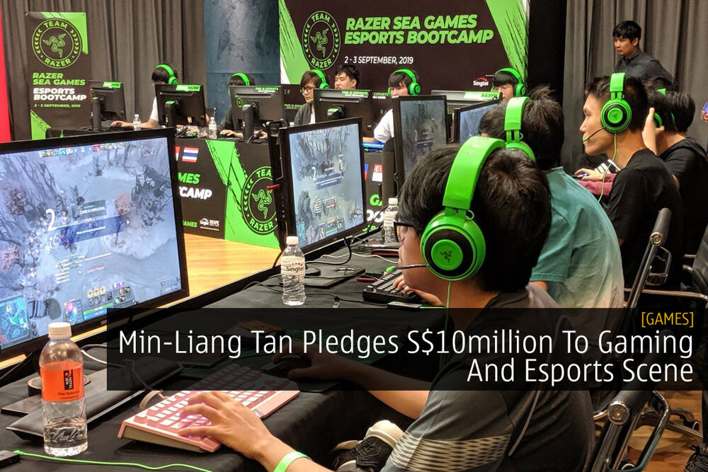 Min-Liang Tan Pledges S$10million To Gaming And Esports Scene 24