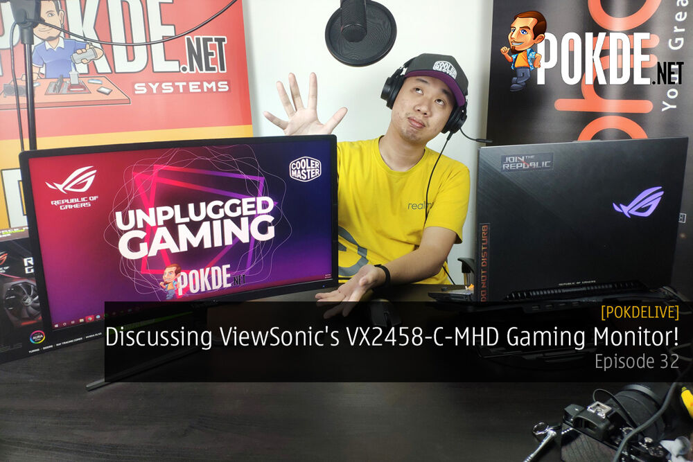 PokdeLIVE 32 — Discussing ViewSonic's VX2458-C-MHD Gaming Monitor! 22