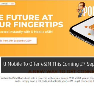 U Mobile To Offer eSIM This Coming 27 September 2019 25