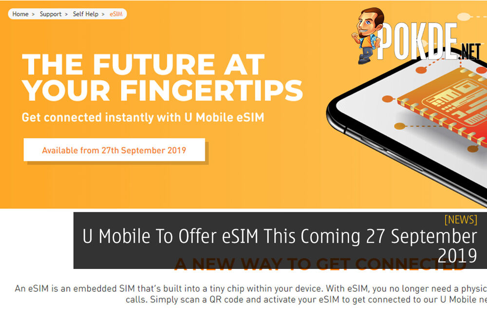 U Mobile To Offer eSIM This Coming 27 September 2019 20