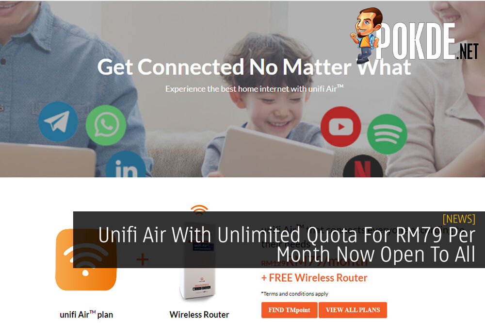 Unifi Air With Unlimited Quota For RM79 Per Month Now Open To All 20