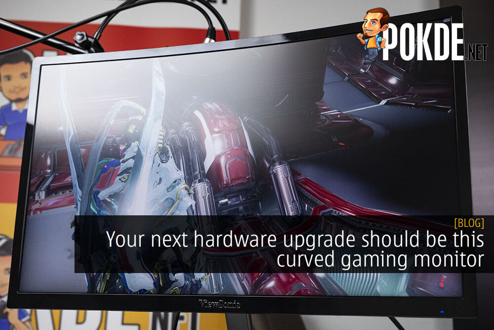 Here's why your next hardware upgrade should be this curved gaming monitor 19
