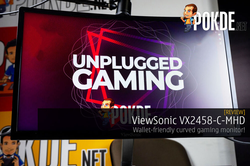 "ViewSonic VX2458-C-MHD 24"" Curved Gaming Monitor Review — Wallet-friendly curved gaming monitor! 20"