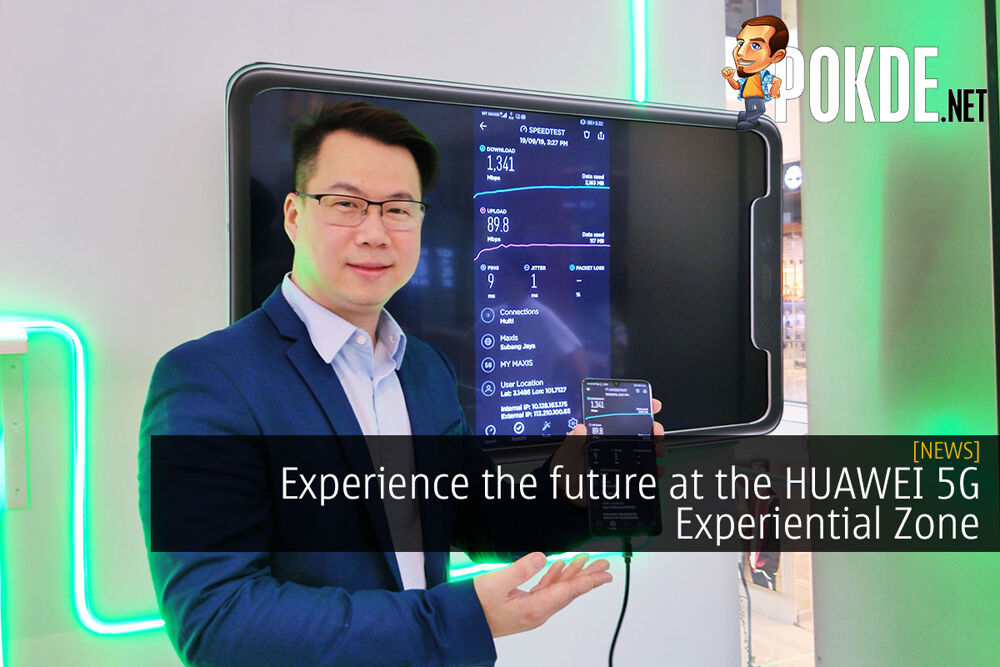 Experience the future at the HUAWEI 5G Experiential Zone 22
