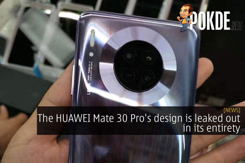 The HUAWEI Mate 30 Pro's design is leaked out in its entirety 20