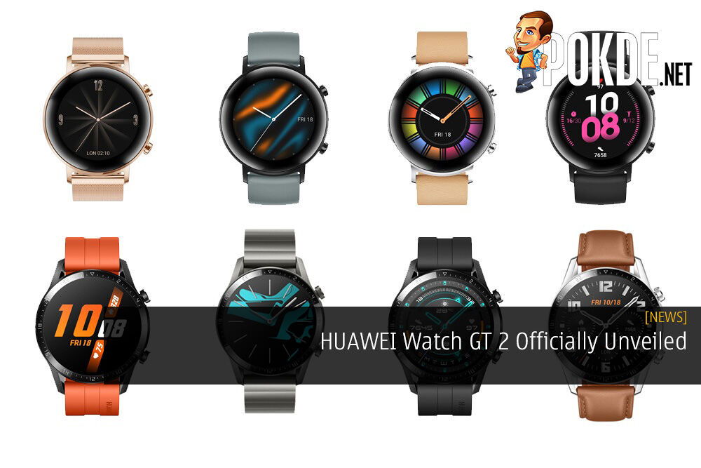 HUAWEI Watch GT 2 Officially Unveiled