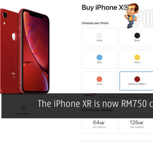 The iPhone XR is now RM750 cheaper 24