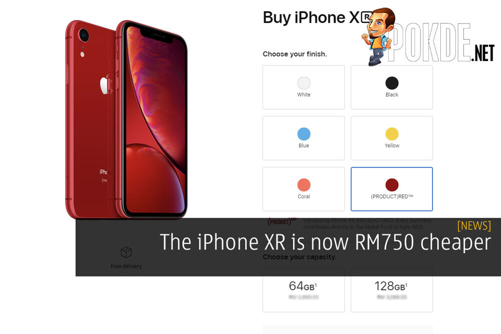 The iPhone XR is now RM750 cheaper 22