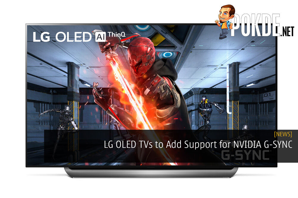 LG OLED TVs to Add Support for NVIDIA G-SYNC