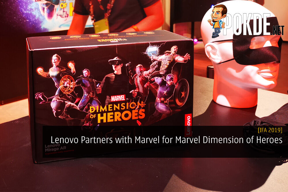[IFA 2019] Lenovo Partners with Marvel for Marvel Dimension of Heroes AR Game 24