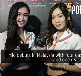 Mio debuts in Malaysia with four dashcams and one rear camera 30