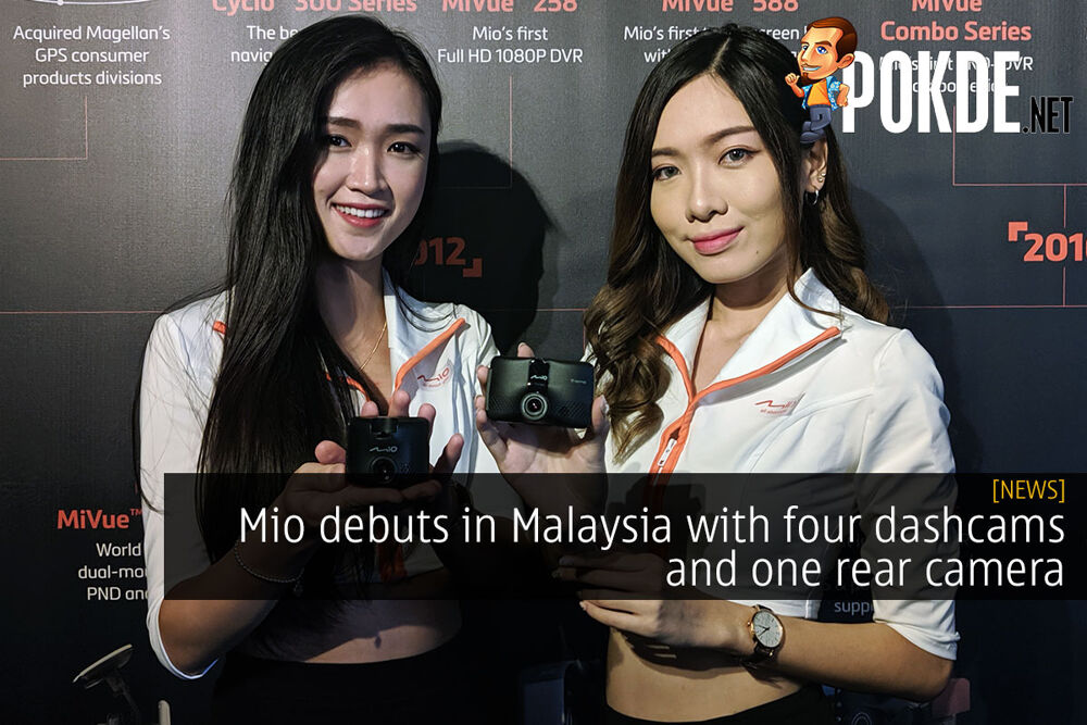 Mio debuts in Malaysia with four dashcams and one rear camera 23