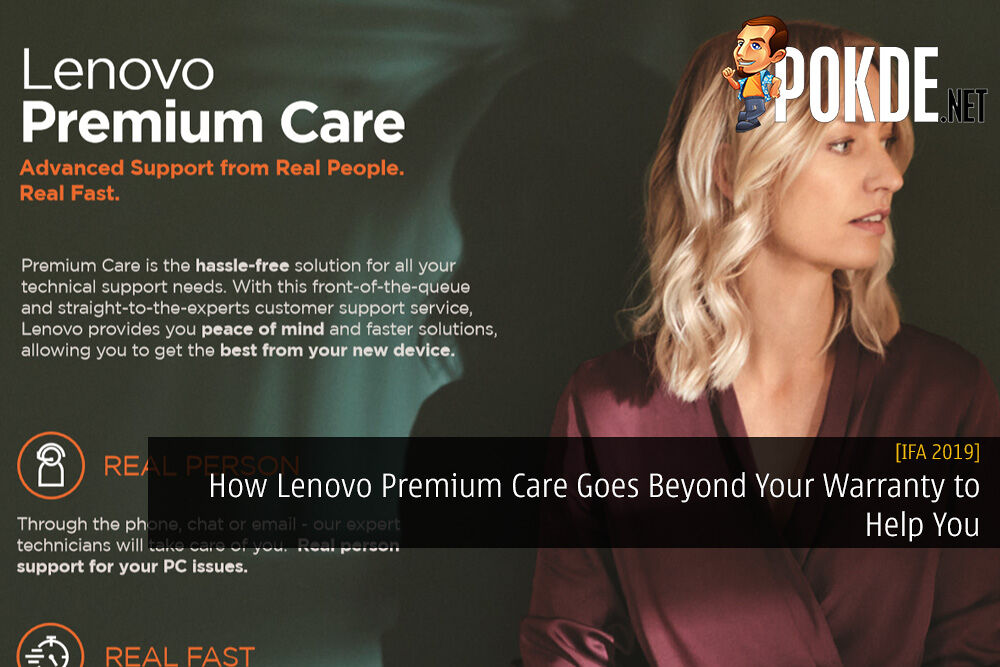 [IFA 2019] How Lenovo Premium Care Goes Beyond Your Warranty to Help You 21