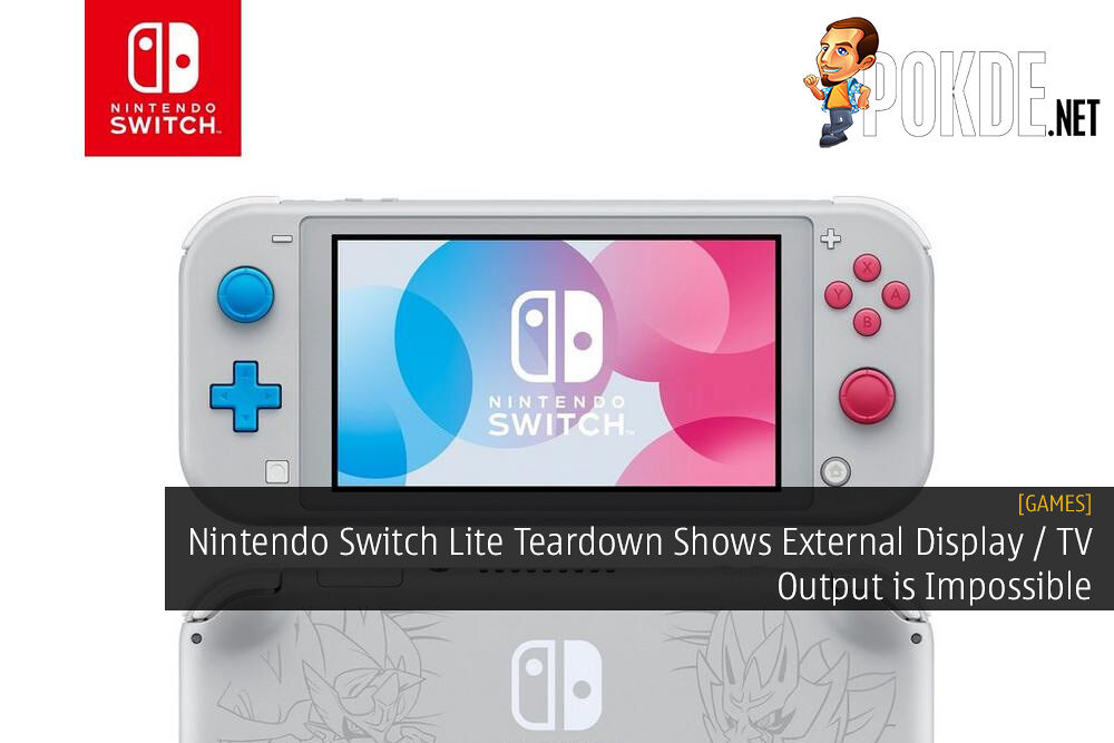 Nintendo Switch Lite Teardown Shows TV Output is Impossible - Joy-Con Drift Still an Issue? 19