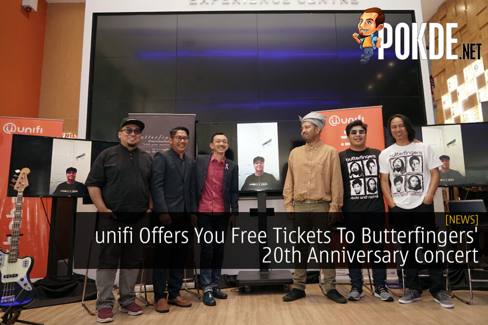 unifi Offers You Free Tickets To Butterfingers' 20th Anniversary Concert 20