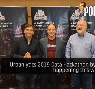 Urbanlytics 2019 Data Hackathon by Axiata happening this weekend 23