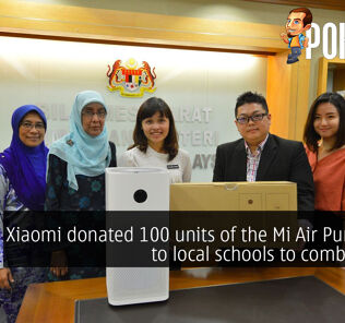 Xiaomi donated 100 units of the Mi Air Purifier 2S to local schools to combat haze 50