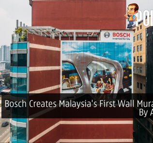 Bosch Creates Malaysia's First Wall Mural Done By A Robot 29