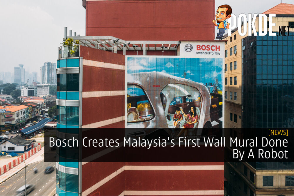 Bosch Creates Malaysia's First Wall Mural Done By A Robot 19