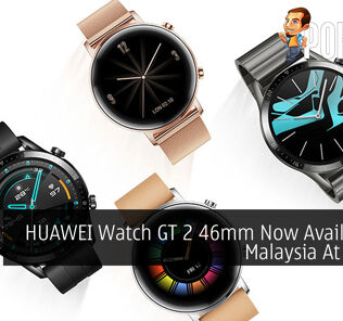 HUAWEI Watch GT 2 46mm Now Available In Malaysia At RM799 32