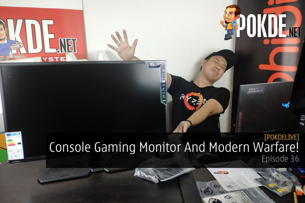 PokdeLIVE 36 — Console Gaming Monitor And Modern Warfare! 24