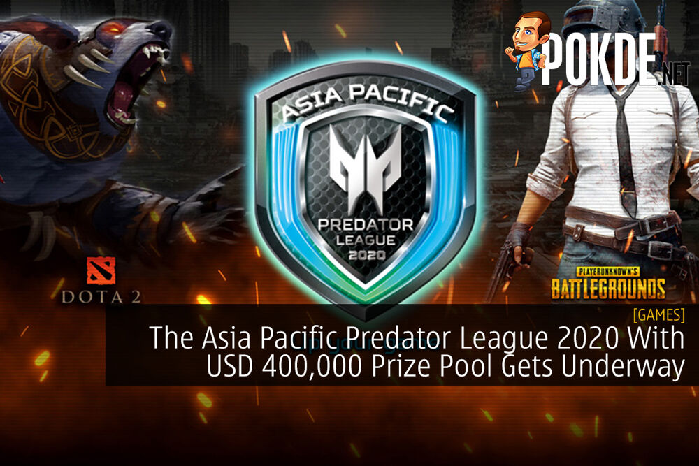 The Asia Pacific Predator League 2020 With USD 400,000 Prize Pool Gets Underway 16