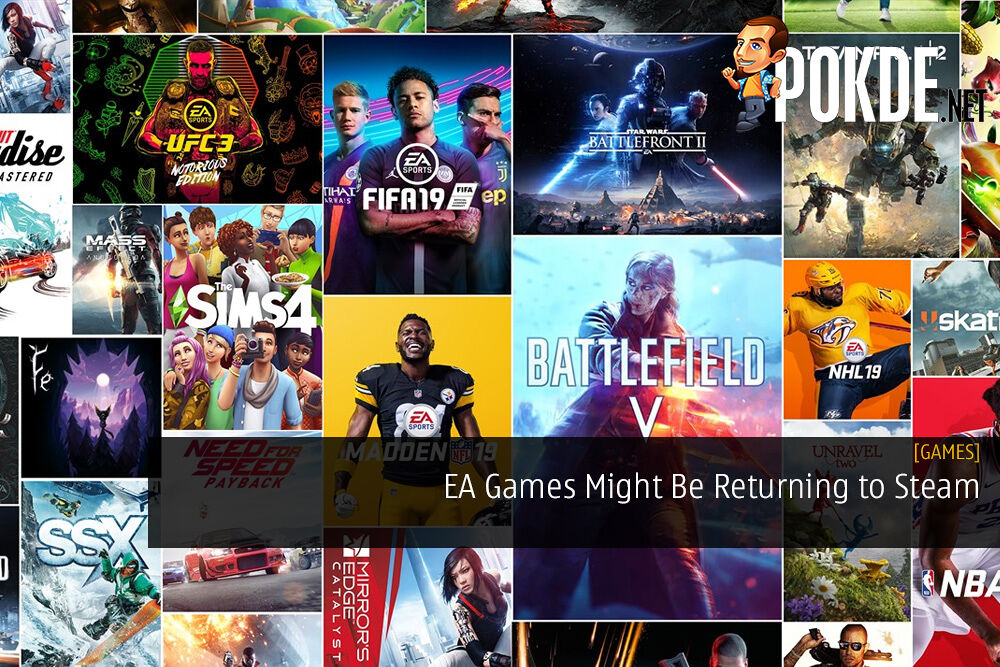 EA Games Might Be Returning to Steam