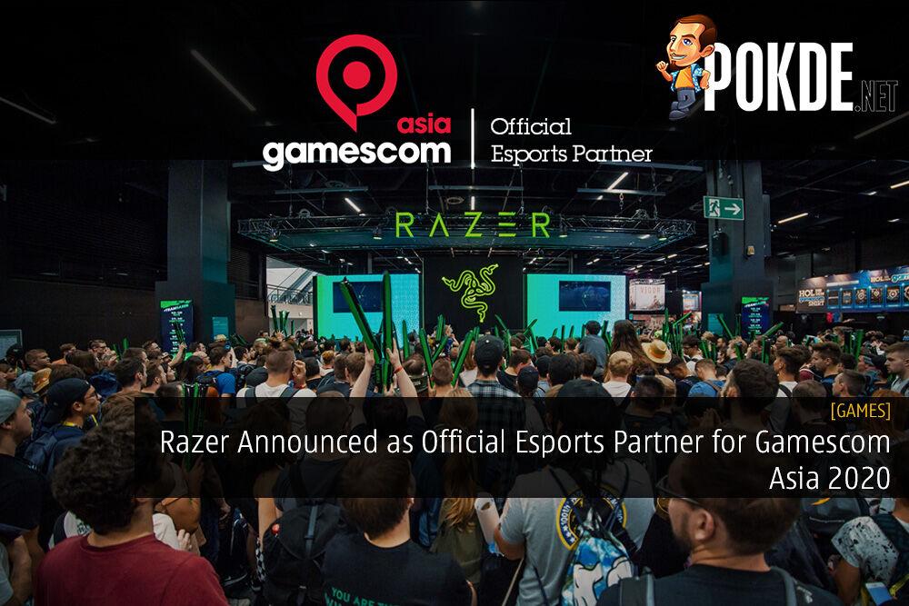 Razer Announced as Official Esports Partner for Gamescom Asia 2020