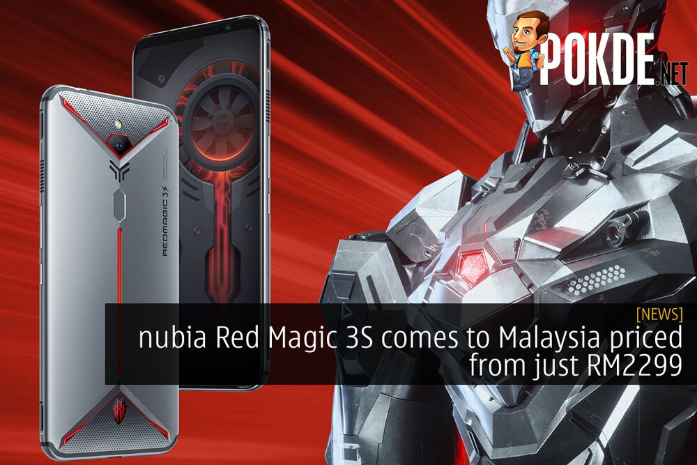 nubia Red Magic 3S comes to Malaysia priced from just RM2299 19