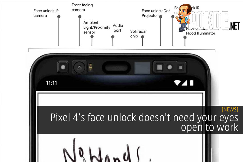 Pixel 4's face unlock doesn't need your eyes open to work 32