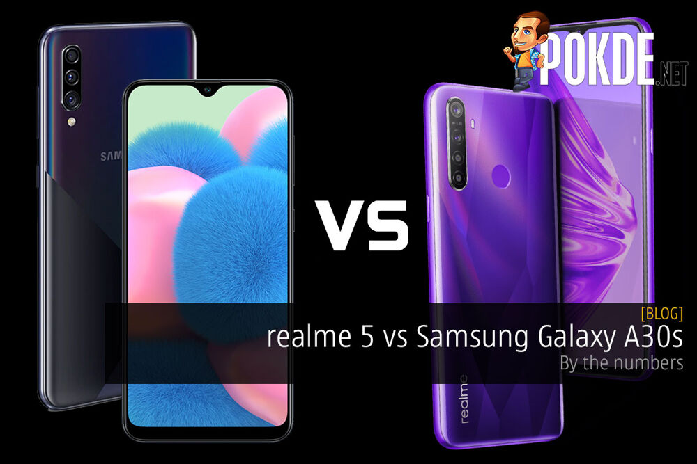 realme 5 vs Samsung Galaxy A30s — by the numbers 24