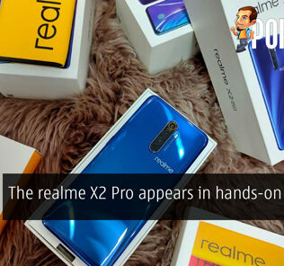 The realme X2 Pro appears in hands-on photos 22