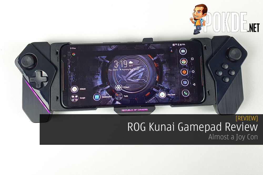 ROG Kunai Gamepad Review - Almost a Joy Con 27