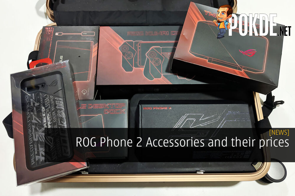 ROG Phone 2 Accessories and their prices 27