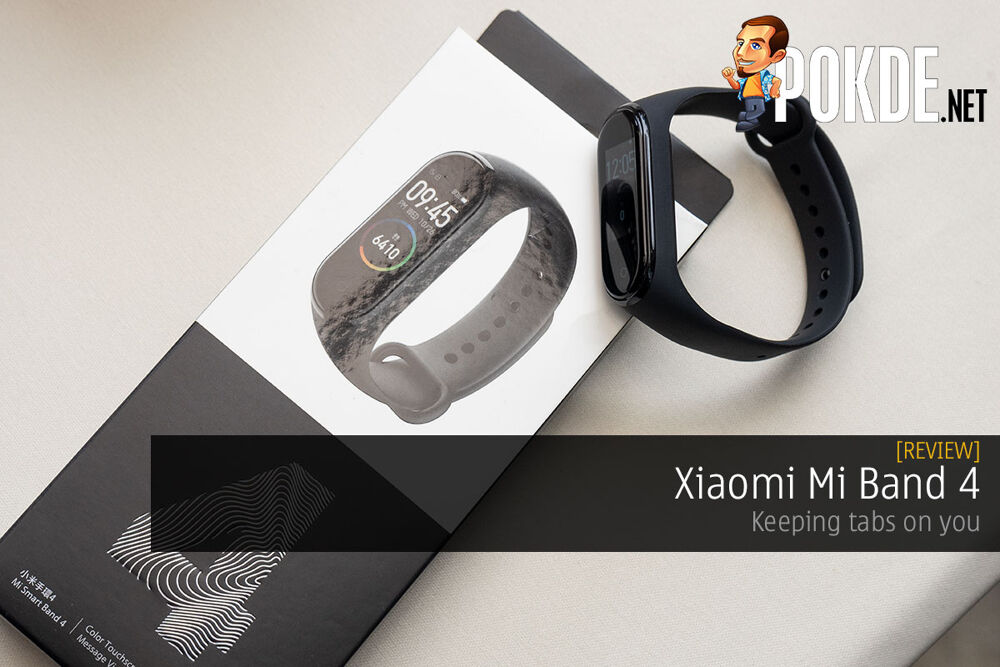 Xiaomi Mi Band 4 Review — keeping tabs on you 20
