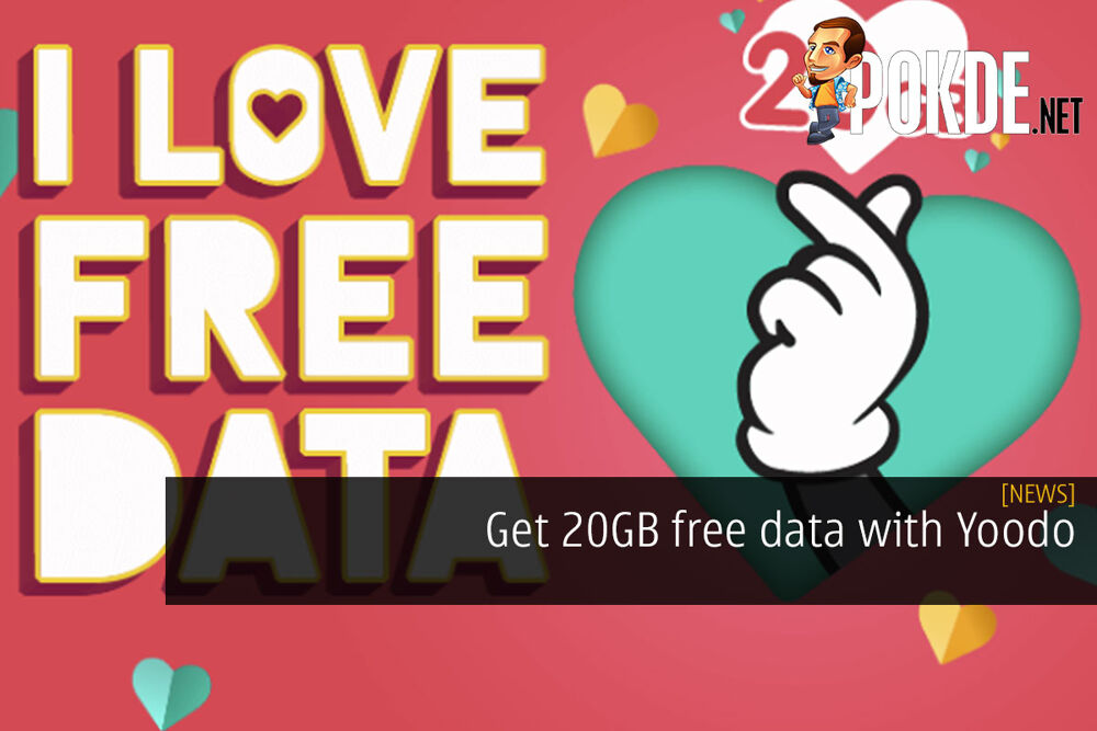 Get 20GB free data with Yoodo 22