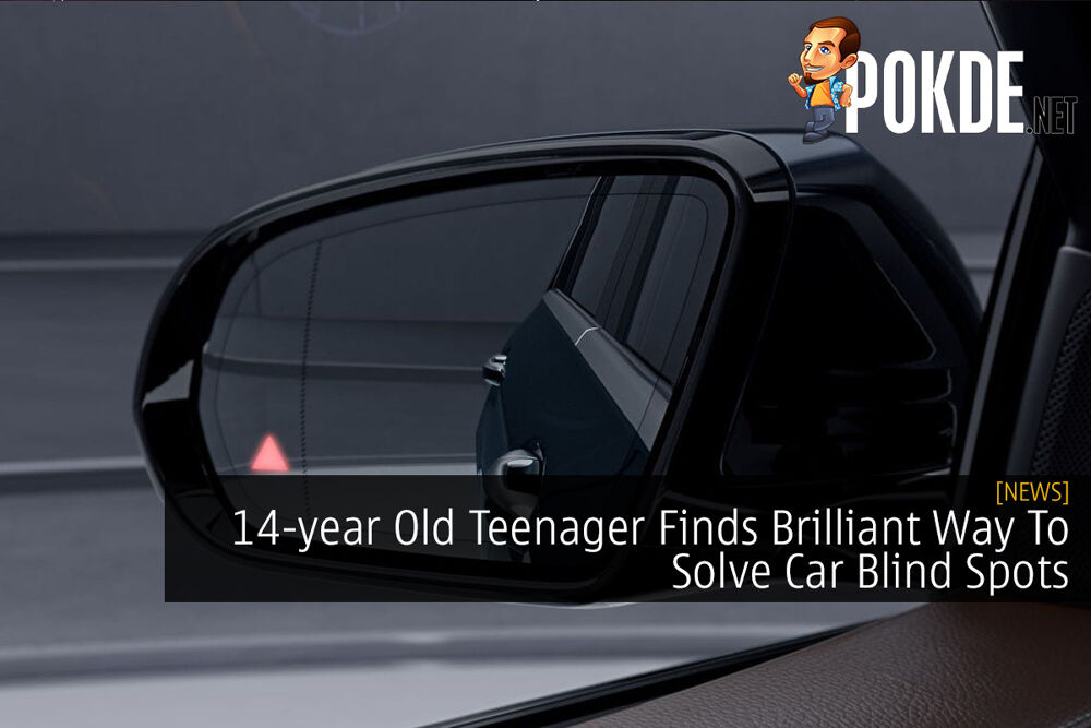 14-year Old Teenager Finds Brilliant Way To Solve Car Blind Spots 16