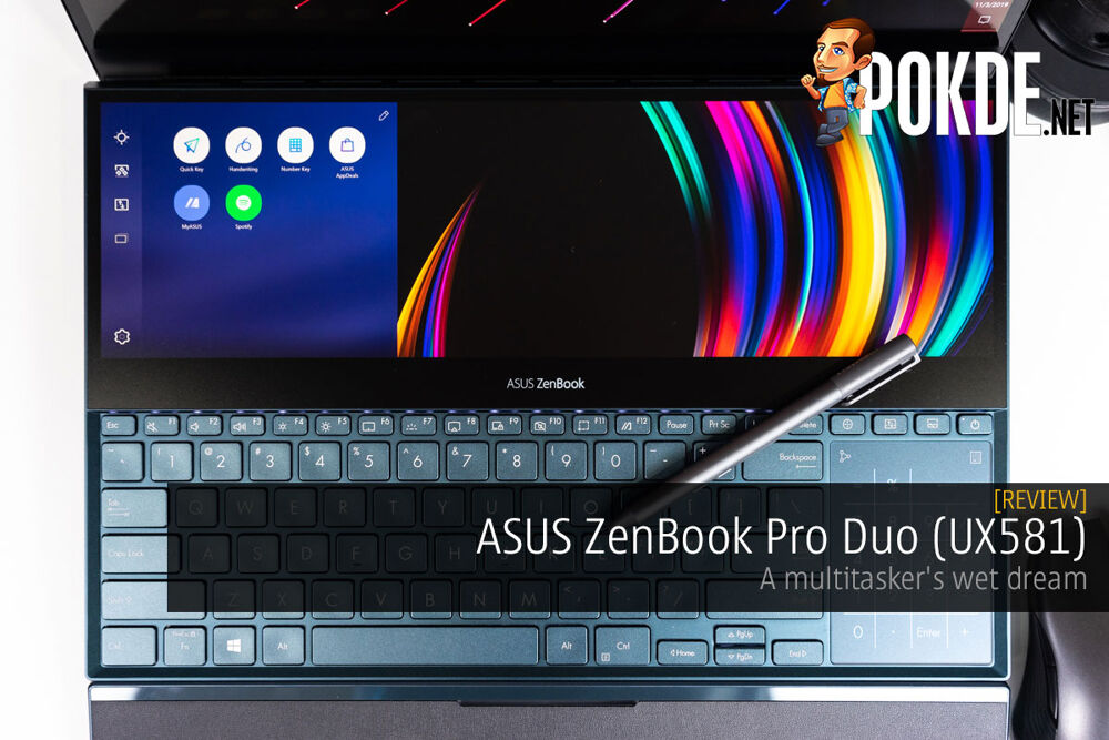 ASUS ZenBook Pro Duo (UX581) Review — a multitasker's wet dream 22