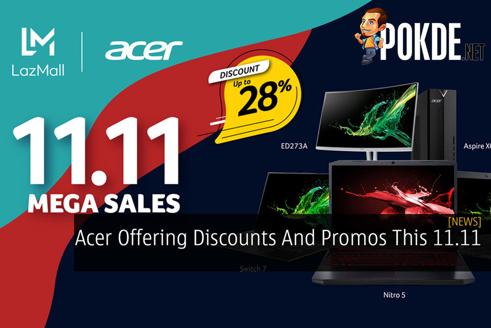 Acer Offering Discounts And Promos This 11.11 23