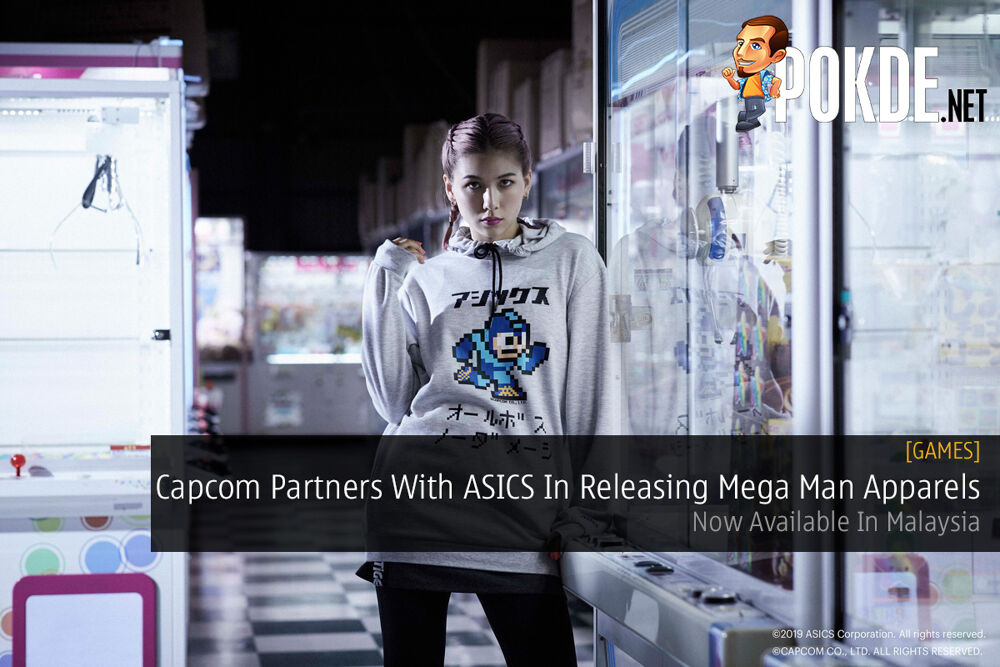 Capcom Partners With ASICS In Releasing Mega Man Apparels — Now Available In Malaysia 32