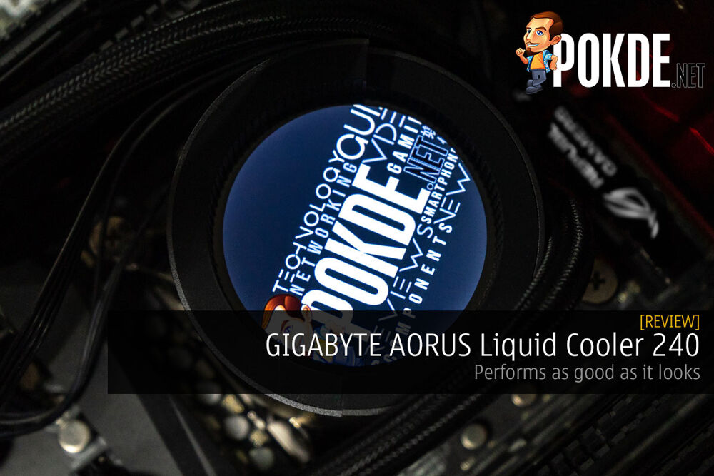 GIGABYTE AORUS Liquid Cooler 240 Review — performs as good as it looks 24