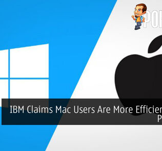 IBM Claims Mac Users Are More Efficient Than PC Users 28
