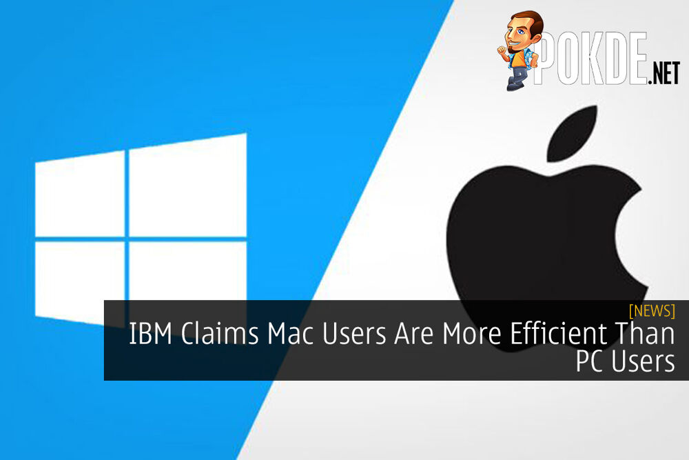 IBM Claims Mac Users Are More Efficient Than PC Users 20