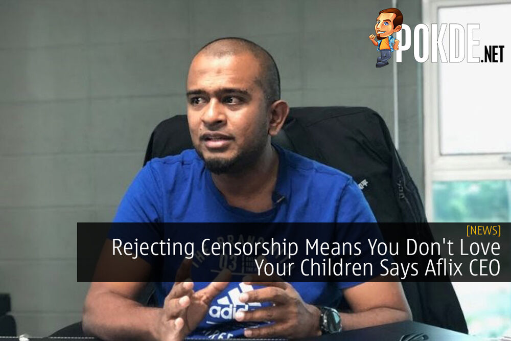 Rejecting Censorship Means You Don't Love Your Children Says Aflix CEO 16