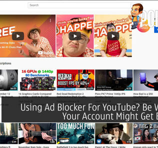 Using Ad Blocker For YouTube? Be Wary As Your Account Might Get Banned 27