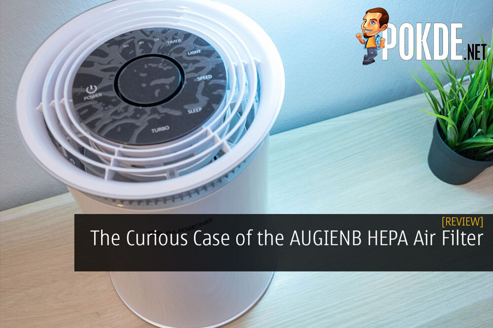 The curious case of AUGIENB HEPA Air Purifier 18